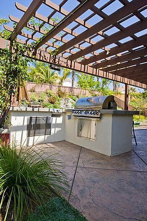 kitchen outdoor design stucco outdoor kitchen landscaping network 2387