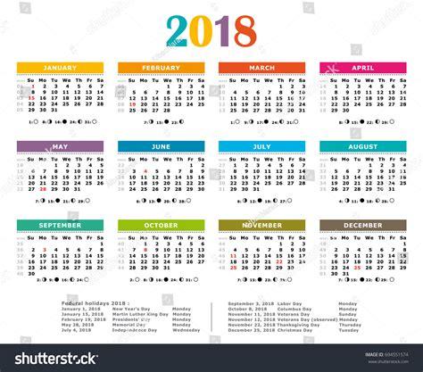 american calendar bazga