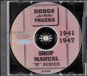 1947 Dodge Truck Wiring : dodge w truck cd repair shop manual 1941 1942 1946 1947 ~ A.2002-acura-tl-radio.info Haus und Dekorationen
