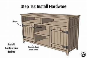 Rustic Media Center { Free DIY Plans } Rogue Engineer