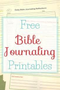 Free Bible Journaling Printables