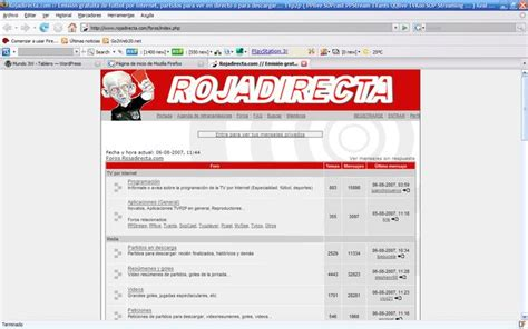You can't find a stream? RojaDirecta | Mundo 3W