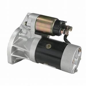 Starter Motor For Nissan Urvan E24 Engine Td27 2 7l Diesel 1987-1993 - Qualitycarparts