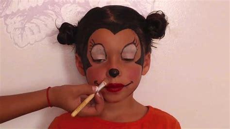 micky maus schminken minnie mouse makeup tutorial