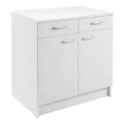 formation cuisine guadeloupe meuble cuisine bas 2 porte 2 tiroir 80 cm blanc primalight