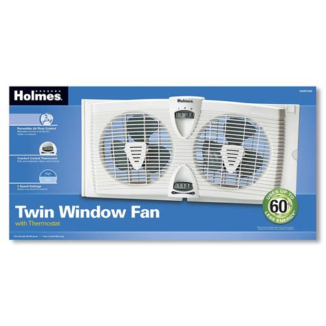 holmes twin window fan with washable filter holmes hawf2030 n dual blade twin window fan with