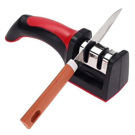 knife sharpener sharpening kitchen knives stone sharpeners tools diamond ceramic tool household professional machine honer grip soft stages