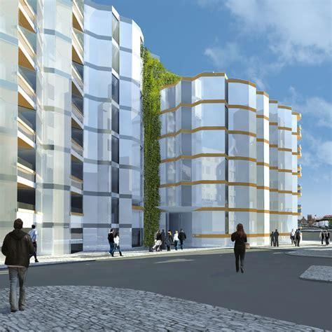 Broken Wharf House   London Riverside Housing   e architect