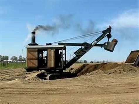 Antique Erie Steam Shovel - YouTube