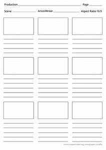 Chart Board Paper Storyboard Printable Template Free Printable Papercraft