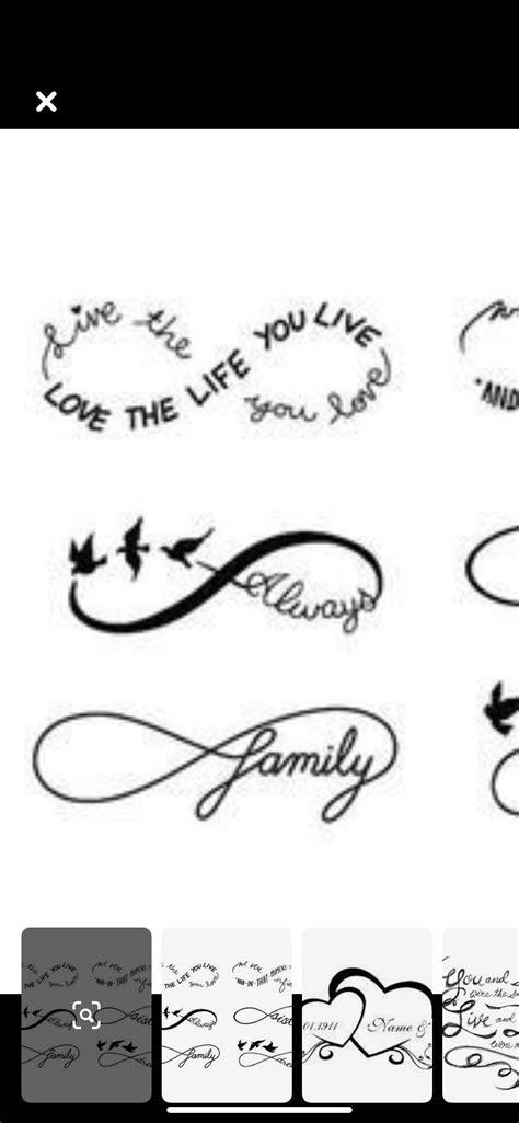 Family, infinity   Infinity tattoo, Art tattoo