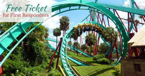 busch gardens tickets free busch gardens ticket more for responders