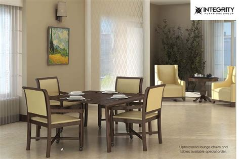 integrity furniture senior living dining and