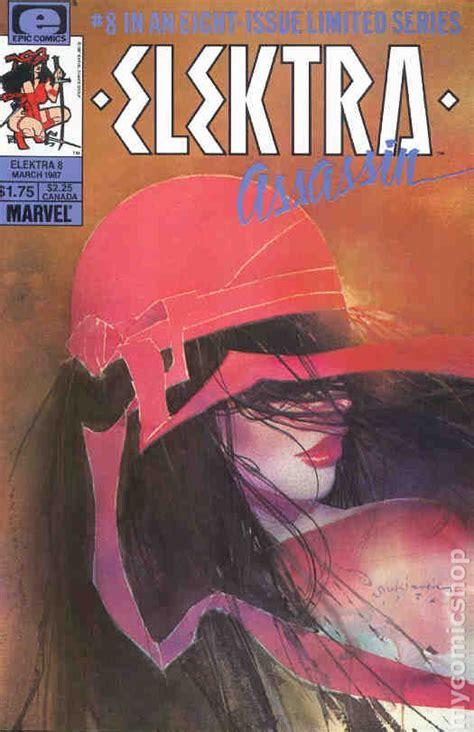 elektra assassin  comic books