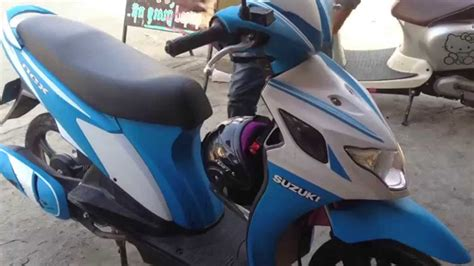 2015 suzuki nex 110 auto to new design the best color top motor nex youtube