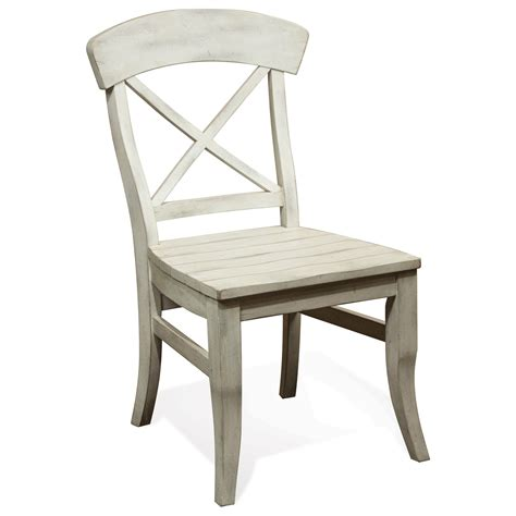 x back dining chair riverside furniture regan x back dining side chair with 1679