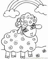 Lamb Coloring Pages Easter Printable Sheep Lambs Had Mary Lion Colouring Sheets Lost Template Getcolorings Sheet Coloringpages101 Sketch Getcoloringpages sketch template