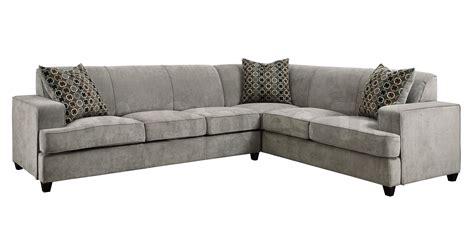 Modern Sofa Sleeper by 1494 45 Tess Modern Grey Sectional Sofa With Sleeper
