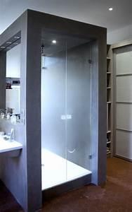 parois de douche en verre wikiliafr With porte de douche coulissante avec miroir salle de bain anti buée