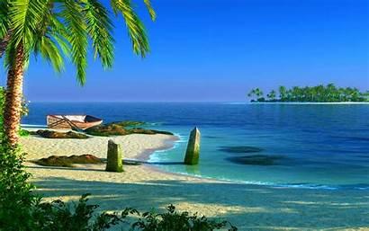 Wallpapers Vacation Lato Desktop Wyspa Beaches Travel