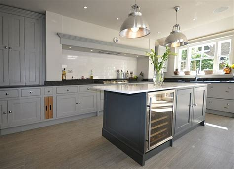 kitchen island units uk grey kitchen with kitchen cupboards in farrow and 5189