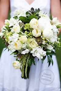 green and white wedding | White + Green Wedding Bouquet ...