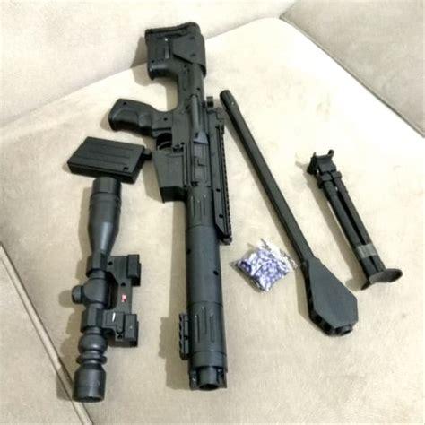 jual mainan pistol anak senapan terbaru black sniper