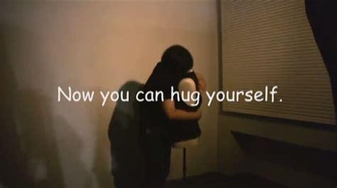 interactive robot torso    hug  bit rebels