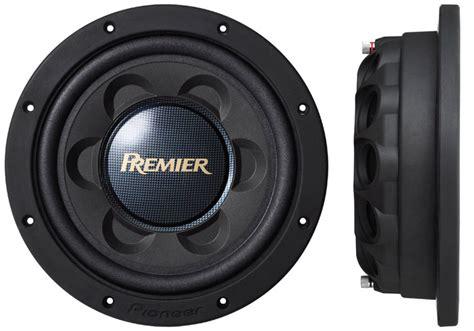 "Tssw124d  Premier® 12"" Shallowmount Subwoofer  Pioneer Electronics Usa"
