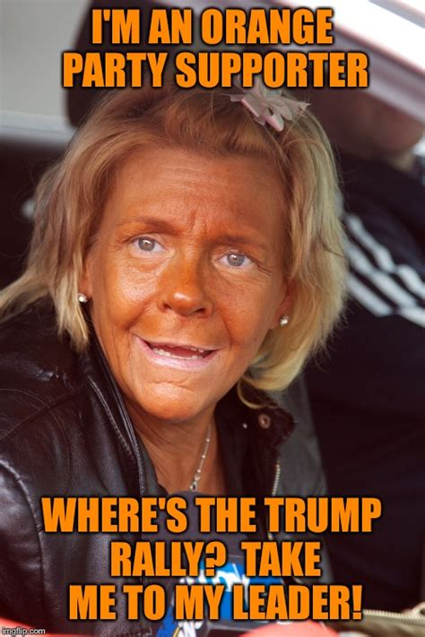 political party birth trump meme orange imgflip rally leader take supporter