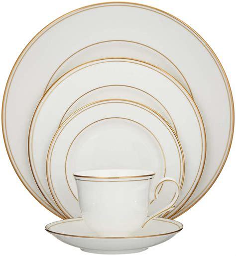 amazon dinnerware gold
