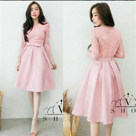 baju mini dress pendek brukat cantik simple unik  murah