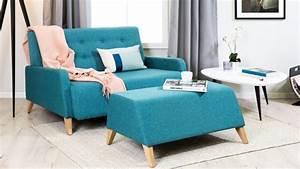 Sofa Samt Blau : sofa blau und couch blau bis 70 westwing ~ Michelbontemps.com Haus und Dekorationen