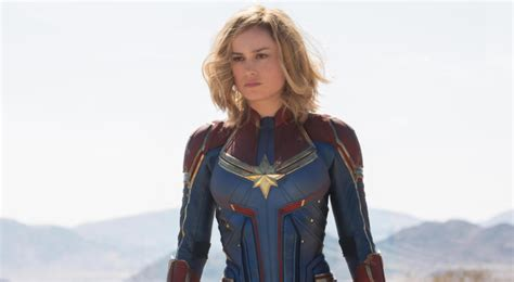brie larson captain marvel powers first look at brie larson as captain marvel movie news