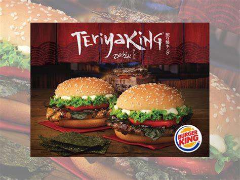 burger king singapore debuts  teriyaking sandwiches