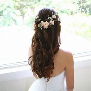 55 Beautiful Wedding Hairstyles Ideas With Bangs For Long Hair VIs Wed
