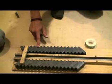 magnetic rail gun science project ii   build