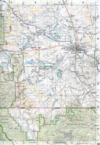 Wyoming Road Map Atlas