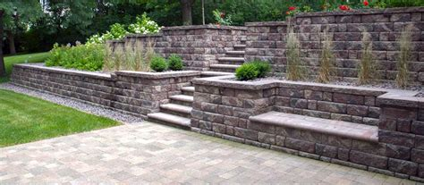 manufactured retaining walls landscape wall design homestartx com