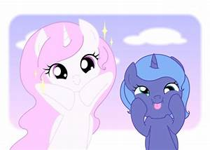 Filly Luna and Celestia - My Little Pony Friendship is ...