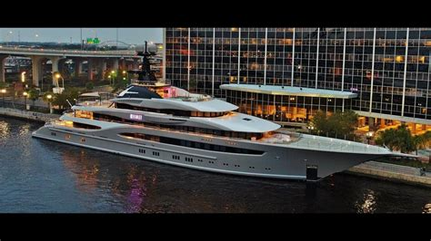 KISMET 312 ft. Mega Yacht... Shad Khan owner of ...