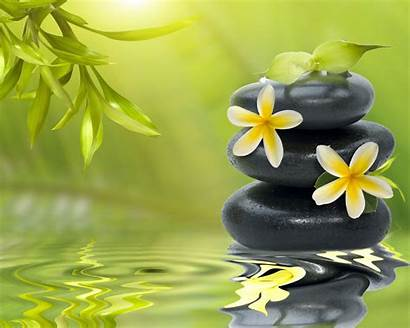 Zen Meditation Garden Wallpapers Wallpapersafari Flowers Stones