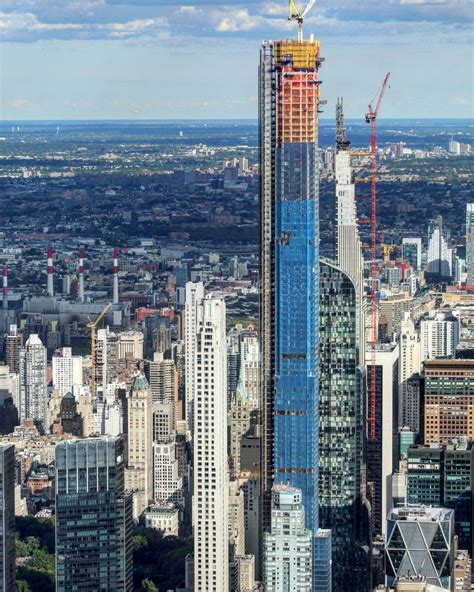 Central Park Tower Officially Tops Out 1550 Feet Above