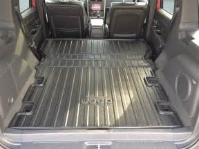 jeep patriot trunk space cargo area liner jeep liberty item 82210677ab