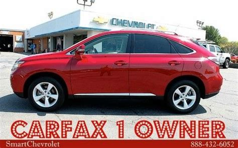 buy used 2010 lexus rx 350 carfax certified one owner
