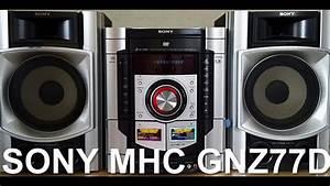 Mhc Gn800 Sony Genezy En 2018 Sony T