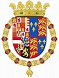 File:Coat of Arms of Philip II of Spain, English King ...