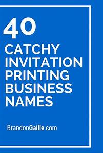 business names printing and invitations on pinterest With wedding invitations business name ideas