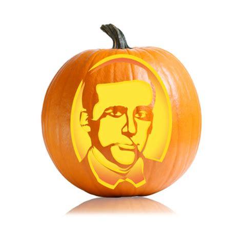 michael scott  office pumpkin carving stencil