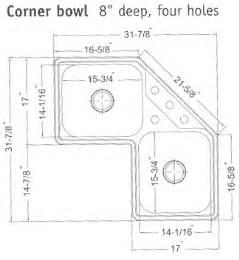 kitchen sink faucet size corner kitchen sinks